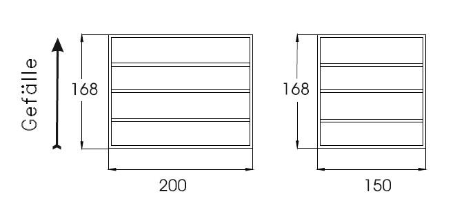 Lagerbox Dachgestell