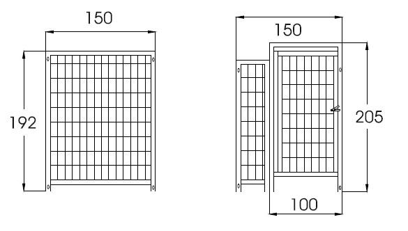 Lagerbox Standardelemente