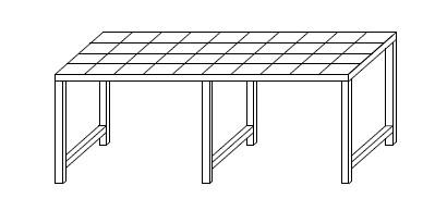 Lagerbox Tisch